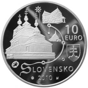 10 Euro / 2010 - Drevené chrámy - Proof
