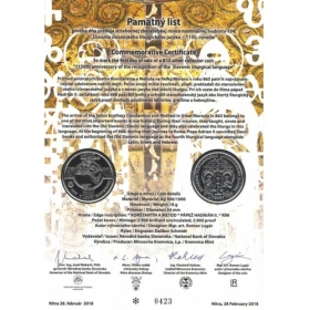 Commemorative deed - Slavonic liturgical language