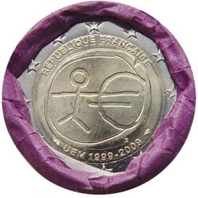 2 Euro Francúzsko 2009 - Hospodárska a menová únia