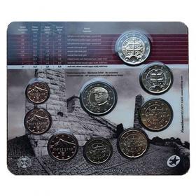 Sada Euro / 2019 - Slovenské euromince - 100. výročie úmrtia M.R.Štefánika - Bežná kvalita