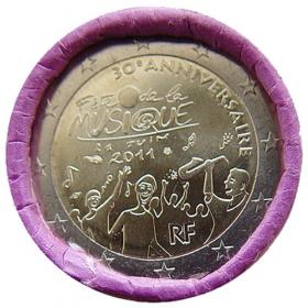 2 Euro / 2011 - Francúzsko - Sviatok hudby