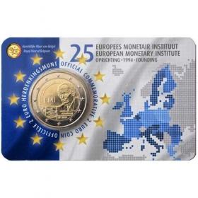 2 Euro / 2019 - Belgicko - 25. výročie Európskeho menového inštitútu (EMI)