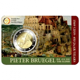 2 euro / 2019 - Belgium - 450th anniversary of the death of Pieter Bruegel