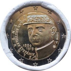 2 Euro / 2019 - Slovakia - M.R.Stefanik - 100th anniversary of death