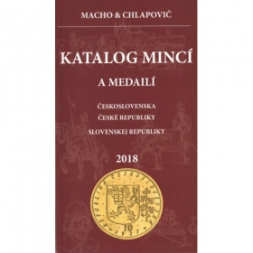 Catalog of Czechoslovakia, Czech republic and Slovak republic coins and medals, 2018