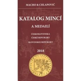 Katalóg mincí a medailí Československa, ČR a SR 2018