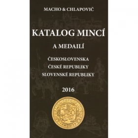 Catalog of Czechoslovakia, Czech republic and Slovak republic coins and medals, 2016