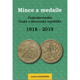 Catalog of Czechoslovakia, Czech and Slovak Republic coins and medals, 2019