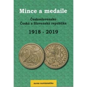 Katalóg mincí a medailí Československa, ČR a SR 2019