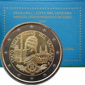 2 Euro Vatikán 2019 - Mestský štát Vatikán