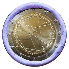 2 Euro / 2019 - Portugalsko - 600 rokov objavenia ostrova Madeira