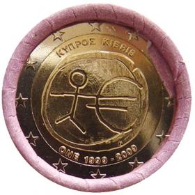 2 Euro Cyprus 2009 - Hospodárska a menová únia