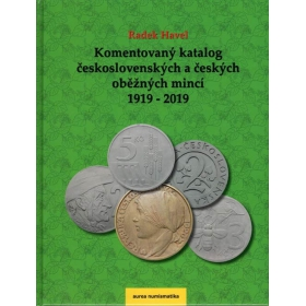 Commented catalog of Czechoslovak and Czech circulating coins 1919 - 2019