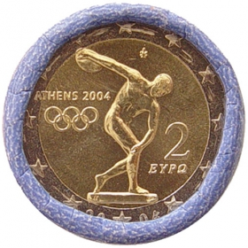 2 Euro / 2004 - Greece - Summer Olympic Games in Athens