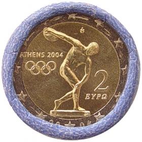 2 Euro Grécko 2004 - Olympijské hry v Aténach