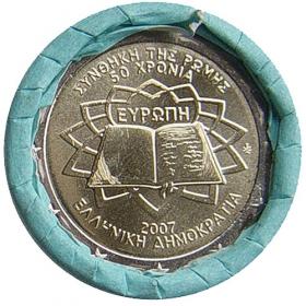 2 Euro Grécko 2007 - Rímska zmluva