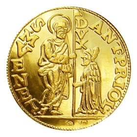 The golden treasure of Kosice city - Antonius Priuli (1- ducat)