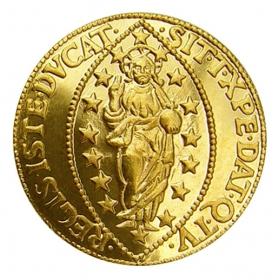 Košický zlatý poklad - Antonius Priuli (1-dukát)