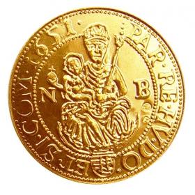 Košický zlatý poklad - Juraj Rákoci (1-dukát)