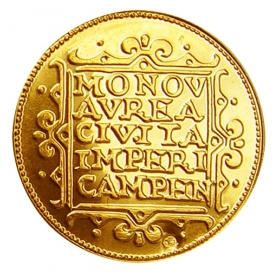 Košický zlatý poklad - Ferdinand III. (1-dukát)