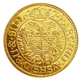 Košický zlatý poklad - Leopold I. (1-dukát)
