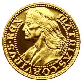 Zlatá medaila Matej I. - Korvín (1-dukát)