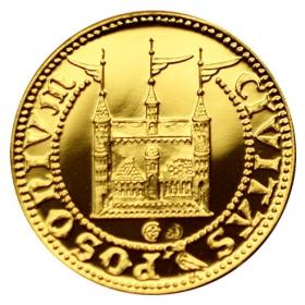Medaila Matej I. - Korvín (1-dukát)