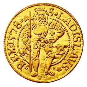 Replika dukátu Maximilián II.  (1-dukát)