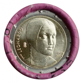 2 Euro / 2019 - Italy - Leonardo Da Vinci - Lady with an Ermine
