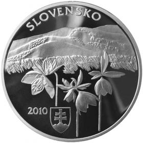 20 Euro / 2010 - Národný park Poloniny - Proof