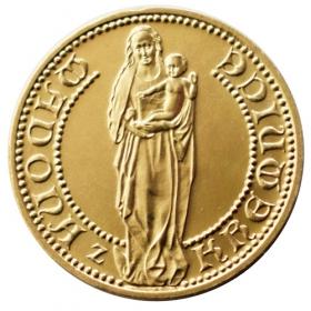 Medal Madonna from Kremnica - Lesk
