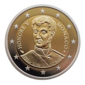 2 Euro / 2019 - Monako 2019 - Honore V. Proof