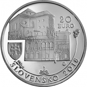20 Euro / 2016 - Banská Bystrica - Proof