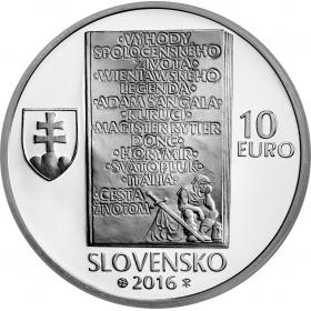 10 Euro / 2016 - Ladislav Nádaši Jége - Proof