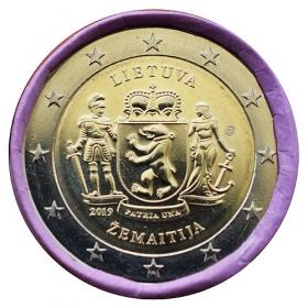 2 Euro Litva 2019 - Žemaitija Región