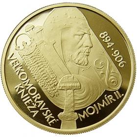 5000Sk / 2006 - Veľkomoravské knieža Mojmír II.