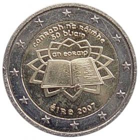 2 Euro Írsko 2007 - Rímska zmluva