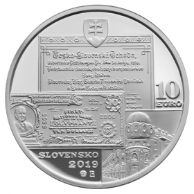 10 Euro / 2019 - Michal Bosák - 150. výročie narodenia - Proof