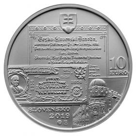 10 Euro / 2019 - Michal Bosák - 150. výročie narodenia - bežná kvalita