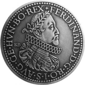 Silver miniature tolar - Ferdinand II.