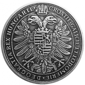Strieborná miniatúra toliaru - Ferdinand II.