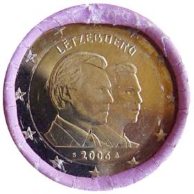 2 Euro Luxembursko 2006 - 25. narodeniny Guillauma