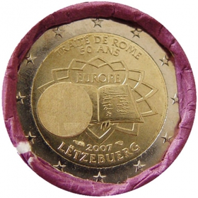 2 Euro / 2007 - Luxembursko - Rímska zmluva