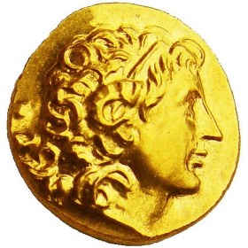 The golden treasure of Kosice city - Lysimachus 323-281 B.C.