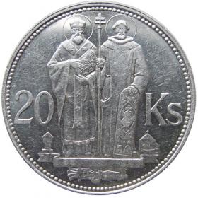 20 Ks / 1941- Cyril a Metod - Bežná kvalita