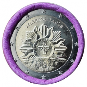 2 Euro Lotyšsko 2019 - Vychádzajúce slnko