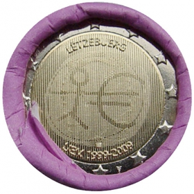 2 Euro / 2009 - Luxembourg - Economic and Monetary Union