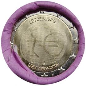 2 Euro Luxembursko 2009 - Hospodárska a menová únia