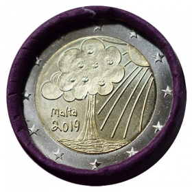 2 Euro / 2019 - Malta - Nature and Environment