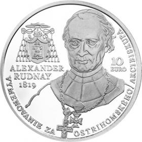 10 Euro / 2019 - Alexander Rudnay - Bežná kvalita